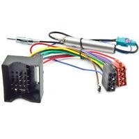 Radio Adapter Phantomspeisung für Audi Ford Opel Skoda Mercedes VW Quadlock ISO