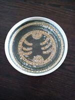 "Mid Century Modern Art Pottery Bowl LAPID Israel 7"""