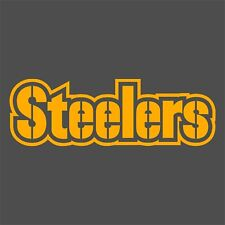 Pittsburgh Steelers Decals, Gold, White, Pink