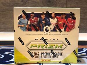 2020-21 Panini EPL Prizm Breakaway Soccer Hobby Box Factory Sealed