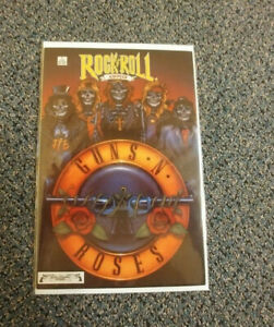 ROCK N ROLL COMICS #1 - GUNS N ROSES - 2nd Second printing / RARE - NICE COPY