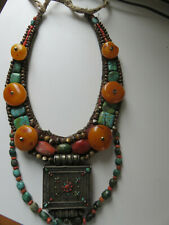 NECKLACE, TIBET, rare, stunning 19th century