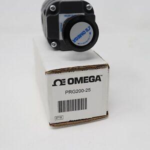 Omega Gran Precisión Aire Regulador de Presión PRG200-25