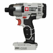 "PORTER CABLE PCC641 20V Max 20 Volt Lithium Ion 1/4"" Hex Impact Driver TOOL ONLY"