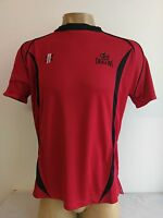 Clearance Line Gray Nichols Tee Performance Welsh Dragons Cricket Shirt Red Blk
