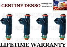 Genuine Denso 4X Fuel Injectors for Nissan Altima 02 03 04 05 06 Sentra 2.5L