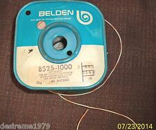 10ft Belden 24 AWG Stranded Hook-Up Wire - Max Rating 1000 Volts - White/Orange
