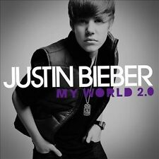 My World 2.0 by Justin Bieber (CD, Mar-2010) Brand New Sealed