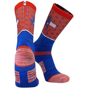 Strideline 2.0 Dallas Texas Flag Split State Star Crew Socks