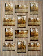Wood Veneer Multi Aperture Photo Frame