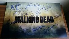 Fear The Walking Dead Cliff Curtis cast signed x10 poster Exact Proof autograph