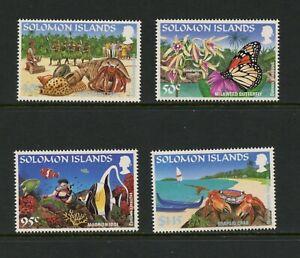 F300 Salomon Îles 1995 Poisson Papillons Tourisme 4v. MNH
