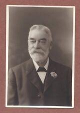 Mature gentleman, RP portrait 1928, Walter Briggs  Bristol  white beard    RK625