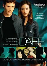 Dare (DVD) Emmy Rossum, Ashley Springer, Zach Gilford NEW