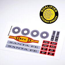 CUSTOM sticker for LEGO 10020 Santa Fe Super Chief, Premium quality