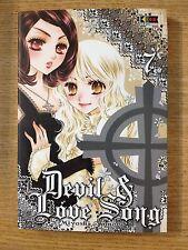MANGA DEVIL & LOVE SONG 7 - MIYOSHI TOMORI - ED. FLASHBOOK - NUOVO DA MAGAZZINO