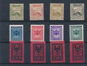 [33575] Albania 1920/30 Good lot postage due stamps Very Fine MH