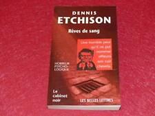 [BIBLIOTHEQUE H. & P-J. OSWALD] CABINET NOIR # 5 D. ETCHISON REVES DE SANG 1998