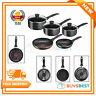 Tefal Non Stick Origins 5 Piece Set  2x Frying Pan & 3x Saucepan & Lids B190S544