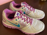 Nike Women's Lunar Forever 2 Size 9 Sneaker Running Shoe Grey Purple EXC COND!!!