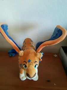 """14"""" Disney TALKING Jaquin Skylar Elena Of Avalor Plush Flying Blue Orange toy"""