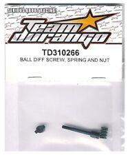 RC Team Durango TD310266 BALL DIFF SCREW SPRING NUT DEX210 DESC210 DEST210R