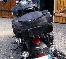 Mochila sissi bar de piel de vaqueta ágil de calidad motocicleta custom harley
