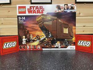 BNIB lego star wars sandcrawler 75220-Retired