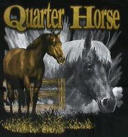 HORSE WESTERN LADIES WOMENS QUARTER  HORSE  WINDCHEATER SWEATSHIRT LGE BLACK