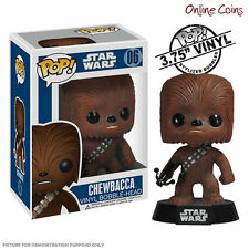 STAR WARS - CHEWBACCA - FUNKO POP VINYL BOBBLE HEAD FIGURE - NEW IN BOX!