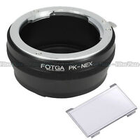 FOTGA Pentax PK K Lens to Sony E-Mount NEX3 NEX5 5N 5R 5C NEX7 NEX6 Adapter Ring