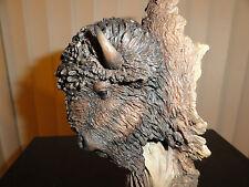 Ground Breaking- Mill Creek Studios-Buffalo statue / sculpture - Joe Slockbower