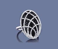 Anillo De Diamantes Oro blanco 585 Brillantes 2,02 ct. Manufactura Wesselton SI