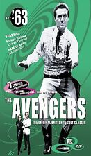 The Avengers - The '63 Collection: Set 4 (DVD, 2001, 2-Disc Set) MOSTLY SEALED