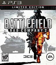 Battlefield: Bad Company 2 (Limited Edition)  (Playstation 3, 2010)