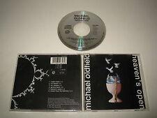 MICHAEL OLDFIELD/HEAVENS OPEN ( VIRGIN CDV2653 ) CD ALBUM