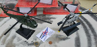 2 x Sikorsky 1x H 19 D / 1x UH 34 Rescue Marines USAF HELIKOPTER  Metall 1:72