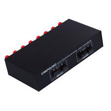 Elektronische 2 in 2 Passiver Lautsprecher Schalter 2 Way Stereo