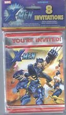 Vintage X-Men Party Invitations - 8 Cards Envelopes Birthday Halloween Christmas