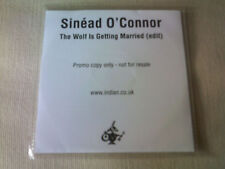 SINEAD O'CONNOR - THE WOLF IS GETTING MARRIED - UK PROMO CD SINGLE
