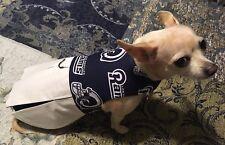 NFL LA Rams Cheerleader Dress for Small Dog