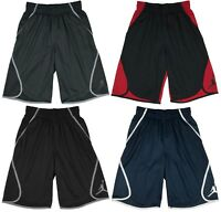 Air Jordan Mens Dri-Fit Flight Victory Basketball Shorts Black/Red/Grey/Navy New