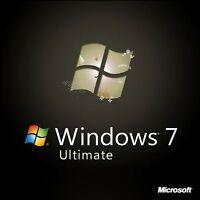 Windows 7 Ultimate 32/64 Instant Multilanguage Original License Key