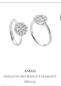 Anello fiore diamanti Giorgio Visconti
