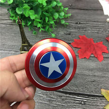 Captain America Hand Spinner Fidget Shield Toy EDC Focus ADHD Autism Kids&Adults