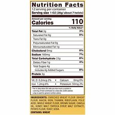 Snyder's of Hanover Pretzels Braided Twists, Honey Wheat, 12 Oz DATE: MAY 2020