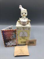 Precious Moments Happy Birdie #527343 Birthday Bird w/Cake Hat Figurine MIB