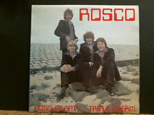 ROSS GRANT & TRIPLE CREAM   Rosco    LP   UK  Private   Lovely copy !