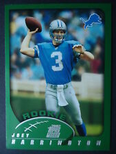 NFL 350 Joey Harrington Detroit Lions Rookie Topps 2002
