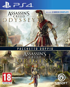 ASSASSIN'S CREED ODYSSEY + ASSASSIN'S CREED ORIGINS PS4 IT